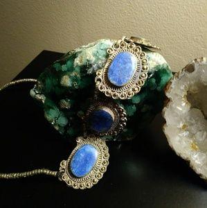 Jewelry - Bohemian Feel Lapis Lazuli Necklace #3